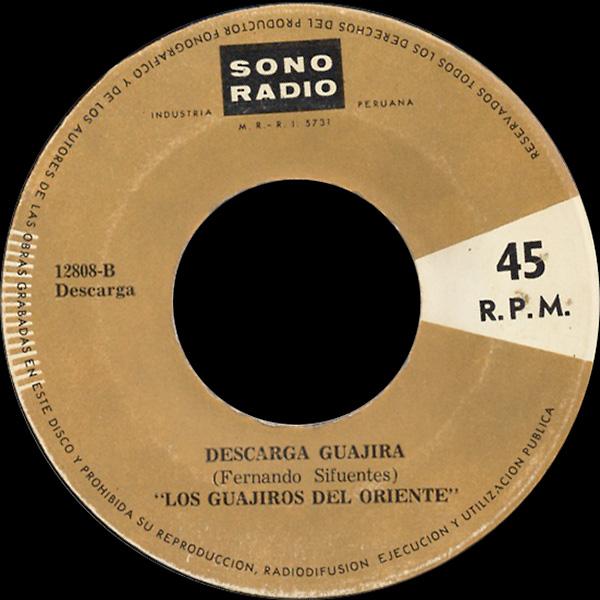 los-guajiros-del-oriente_descarga-guajira_sono-radio_7inch_12808B
