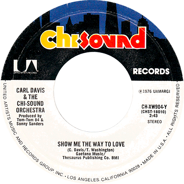 carl-davis_show-me-the-way-to-love_chi-sound-rec_1976