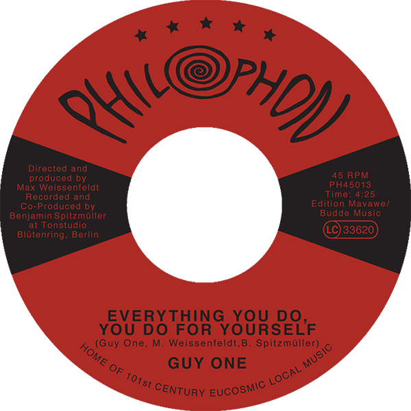 Guy-One_Everything-You-Do,-You-Do-For-Yourself_2017